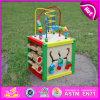 Un giocattolo d'apprendimento in anticipo dei 2015 capretti per il commercio all'ingrosso, bambini che imparano i branelli variopinti dei giocattoli, giocattolo d'apprendimento di legno poco costoso multifunzionale W11b060