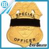 Emblema pequeno do elástico do preto do tamanho da faixa de lamentação do protetor