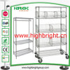 Apparels를 위한 가구 Collapsible Wire Shelving Racks