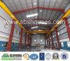 Viga de la grúa de Sbs/edificio de acero de la estructura de la azotea Warehouse/Workshop/Steel de la echada del doble