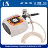 Набора компрессора щетки воздуха HS08-6AC-SK Airbrush пневматического насоса портативного миниый
