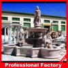 Grande fontaine de découpage de marbre de jardin de l'eau