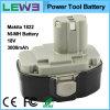 batería de reserva recargable 1822 de la herramienta eléctrica de 3000mAh Makita