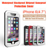 Aluminium Case met Water Dirt Shock Proof voor iPhone 6 met identiteitskaart Touch