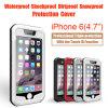 Caso de alumínio com Water Dirt Shock Proof para o iPhone 6 com identificação de Touch