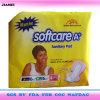 Softcare a mais almofadas sanitárias do algodão para Wommen em Ghana