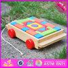 2016 Spitzenform-Kind-hölzernes Baustein-Auto-Spielzeug W13c016