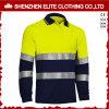 2017 chemises de polo r3fléchissantes de sûreté de force d'hommes d'été salut (ELTHVP-1)