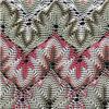 Il nuovo merletto alla moda multicolore ha lavorato a maglia il poliestere 100% per l'indumento o il vestito