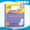 De zonnige Vrouwelijke Hygiënische Beschikbare Maandverbanden van het Meisje