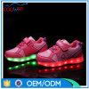 11の可変性カラーの晋江の製造業者の卸売歩きやすいLEDの靴