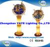 Yaye 18地球のサイズの最もよい販売法の照明宝石用原石の地球: 330mm/450mm/550mm/650mm/オフィスの装飾(YAYE-ST-L024A)