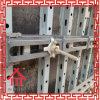 Molde com nervuras elevado do metal para o muro de cimento, feixe, coluna