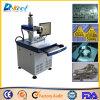 Etiqueta de plástico del laser de la fibra de China 20W para el precio de venta de acero de Siliver
