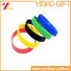 Wristband del silicone e monili di marchio di Customed del braccialetto della gomma (YB-HD-179)