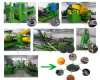 Gomma utilizzata rispettosa dell'ambiente che ricicla la linea di produzione