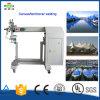 Tela di canapa della tela incatramata del PVC di fabbricazione della Cina che sigilla prezzo della macchina della saldatura continua dell'aria calda