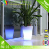 Vase à fleurs illuminé à LED décoratif de Noël