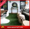 Alfombra de interior verde natural que ajardina la hierba
