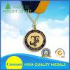 Médaille en alliage de zinc de sport en métal de récompense d'or de métiers en métal de modèle