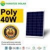 Poly 12V 40W panneau solaire de vente des meilleurs prix chauds