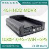 すべての種類の車のために合う4CHハイブリッドモニタリングの移動式手段1080P車DVR 3G 4G WiFi GPS