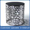 Mobília da tabela do aço inoxidável da coluna do cinza de prata da manufatura da fábrica