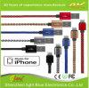 Kabel de van uitstekende kwaliteit van de Lader van het Metaal USB voor iPhone het Laden