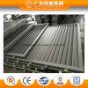 Recubrimiento en polvo ventana fija de aluminio 6063 Material de ventilación de ventana de aluminio