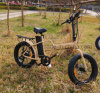 Складывая электрический велосипед с безщеточным мотором 350W