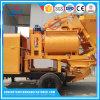 De Pomp van de Concrete Mixer van de aanhangwagen met Dieselmotor en Elektrische Motor
