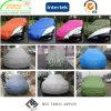 Geschütztes Polyester-Taft-Auto-Deckel-UVgewebe 100% mit wasserdichtem