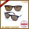 Солнечные очки в поставщике 6 цветов, свободно образцы уклада жизни F7493