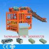 Bloco semiautomático que faz o bloco da máquina Qtj4-26c fazer à máquina Pavers concretos do bloco de Soild da cavidade do cimento