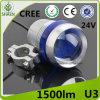 Linterna de la motocicleta LED del CREE 30W U3