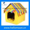 Berufsfertigung-glückliches Farben-Haus-Form-Hundebett