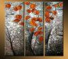 Preiswertes spätestes modernes Blüten-Blumen-Ölgemälde