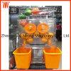 Extrator comercial automático do sumo de laranja