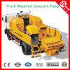 caminhão diesel bombas 40m3/H-120m3/H concretas montadas para a venda