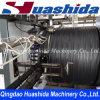 Chaîne de production renforcée par acier de pipe de spirale de PE