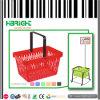 Maniglia di plastica del cestino di acquisto del supermercato singola