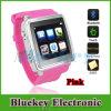 Teléfono androide del reloj elegante de Bluetooth de la pantalla táctil con llamada de teléfono de la sinc.