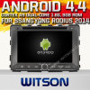 Carro DVD do Android 4.4 de Witson para Ssangyong Rodius 2014 com A9 sustentação do Internet DVR da ROM WiFi 3G do chipset 1080P 8g