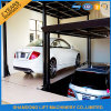 Parking doble Car Lift Elevator Machine para Two Car