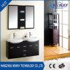 Vanità su ordinazione della stanza da bagno di disegno bacino di legno americano della parete del doppio