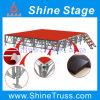 Zusammengebautes Performance Stage Plywood Stage mit Aluminum Frames