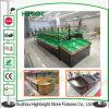 Frucht-Gemüse-Regal-Supermarkt-Frucht-Bildschirmanzeige-Regal-Frucht-Zahnstange