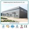 Edificios prefabricados famosos de la estructura de acero para el almacén/el taller