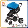 Hoher Ansicht-Aluminiumlegierung-Feld-Baby-Spaziergänger 3 in-1 mit grossen Rädern