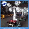 中国の供給4*400W LEDのディーゼル油圧軽いタワー